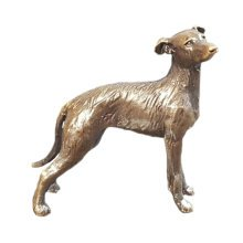 Bronze Lurcher Dog Figure - Butler & Peach - 2073