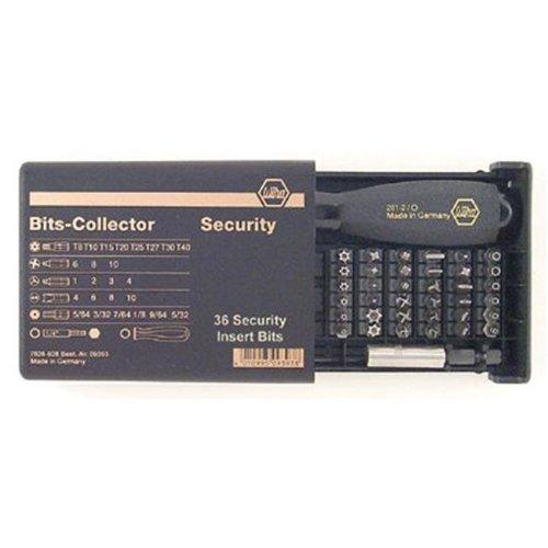 Wiha Tools 817-71990 39 Pc. Security Bits Collector Set