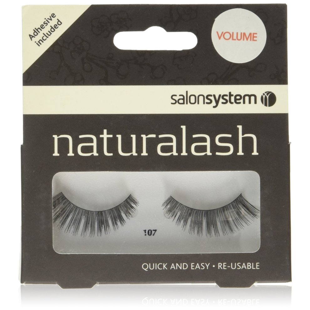 5c0db26e059 Salon System Naturalash Quick and Easy Re-Usable Black 107 Lashes on OnBuy