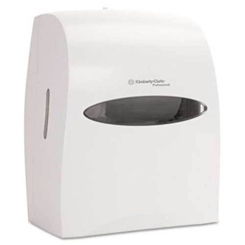 Kimberly-Clark Professional* 09993 WINDOWS Touchless Electronic Roll Towel Dispenser  13 .60 x 11 x 16 .9  White