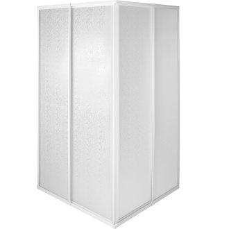 Shower Screen Shower Partition 80 x 90 x 185 cm