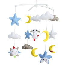 [Happy Forever] Handmade Toys, Rotatable Crib Mobile, Super Cute Decor