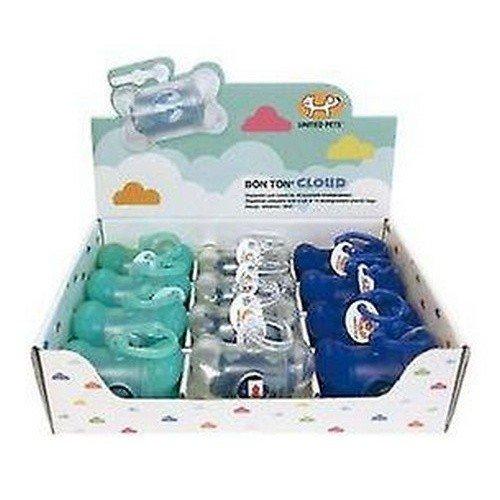 United Pets Bon Ton Cloud Dog Poo Plastic Bag Dispensers Display Box Of 12