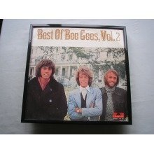 THE BEE GEES Best Of LP cover framed for wall mounting BLACK
