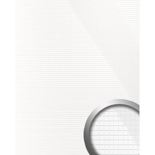 WallFace 13476 M-STYLE Wall panel decor self-adhesive ceramic white | 0.96 sqm