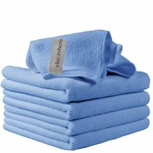 Microfibre Cleaning Cloths, 5 Pack, Blue, Microfibre Dusters, Machine Washable