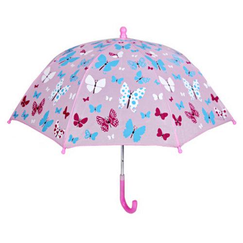 Kids Umbrella/Outdoor Umbrella Childrens Rainy 22Inch Day Umbrella/Butterfly