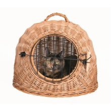 Trixie Wicker Cat Cave With Bars, 45cm - Grid Cats Bars 45cm Basket Item 2870 -  trixie wicker cave grid cats bars 45 cm basket 45cm item 2870 from