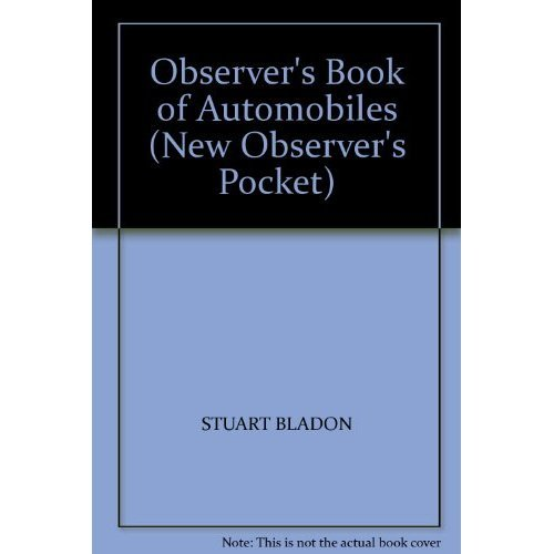 The New Observer's Book of Automobiles