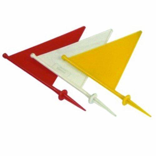 Amber Athletic Gear Official Corner Flag, Set of 4