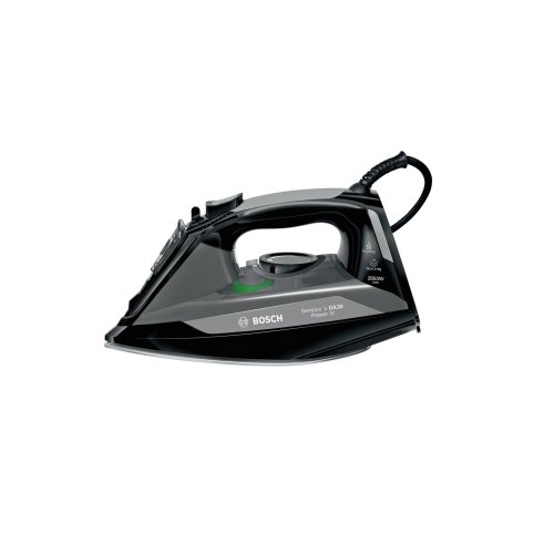 Bosch TDA3022GB Steam Iron Black Sensixx'x 2850w 210g steam shot