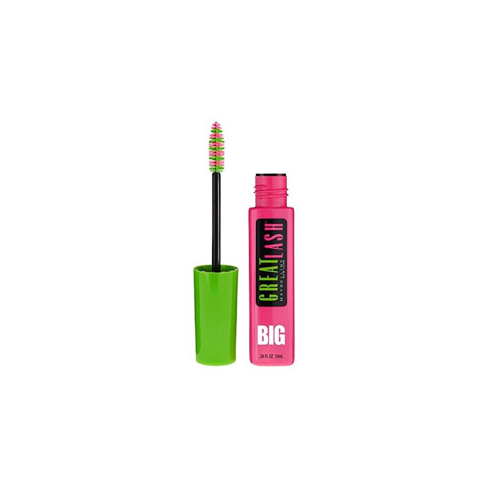 7895455c4e7 Maybelline Makeup Great Lash Big Washable Mascara Brownish Black Volumizing  Mascara 0 34 Fl Oz. >