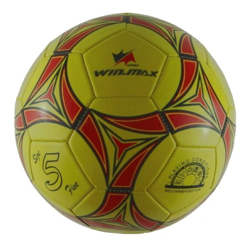 Geometric Pattern Soccer Ball (Official Size 5)