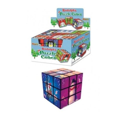Ruldolph's Xmas Puzzle Cube 7cm