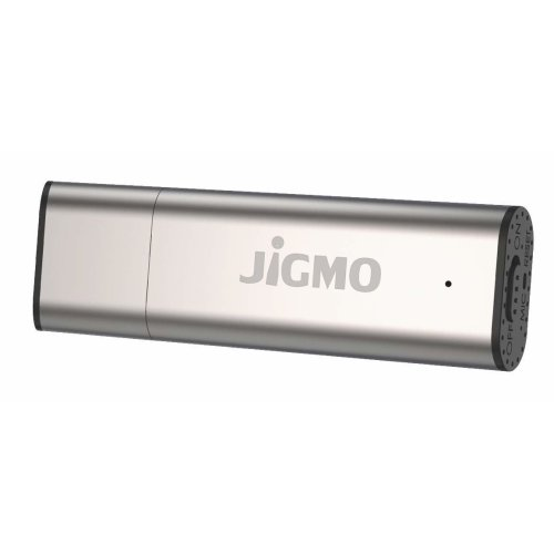 Voice Activated Recorder Dictaphone Recording Device - by JiGMO [Silver], 8GB / 48 Hrs Storage Capacity, 384 kbps / for Training Days, Lectures,...