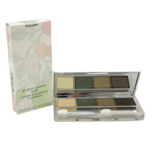 Clinique W-C-5943 0.16 oz No. 05 All About Shadow Quad On Safari Eyeshadow for Women