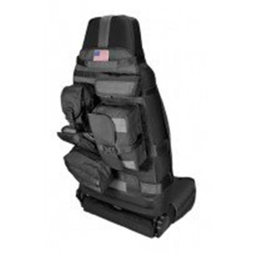 Rugged Ridge 13236.01 Front Cargo Seat Cover, Black, 76-14 Jeep CJ And Wrangler