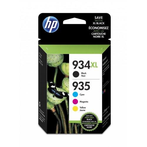 HP 934XL High Yield Black/935XL Cyan/Magenta/Yellow 4-pack Original Ink Cartridges