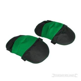 One Size Gardeners Knee Pads - Silverline 210743 Gardening -  knee gardeners pads silverline size one 210743 gardening