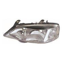 Vauxhall Astra G Mk4 Hatchback 1998-2005 Chrome Headlight Lamp Passenger Side
