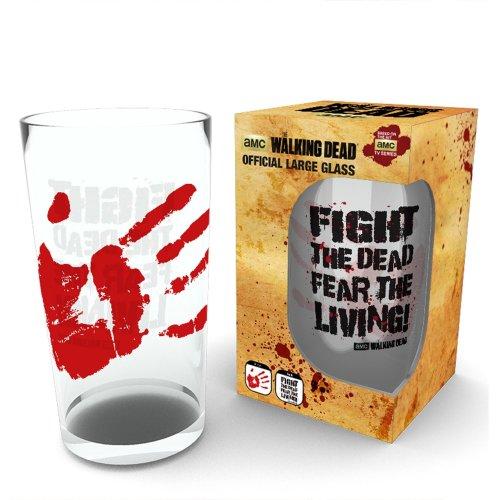 The Walking Dead Fight the Dead Pint Glass