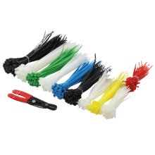LogiLink KAB0019 Nylon Black,Blue,Green,Red,White cable tie