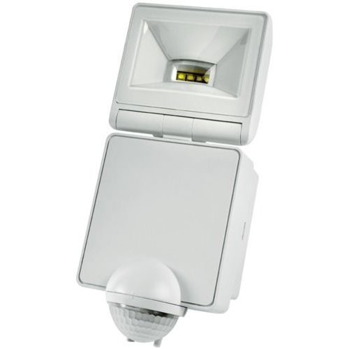 FLOODLIGHT 8W LED WH LED100PIRWH By TIMEGUARD & Best Price Square