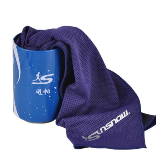 Cold Quick-drying Towel Lightweight Travel Towel Cool Sports Towels With Can, #02