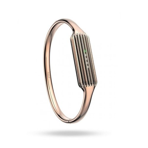 Fitbit Flex 2 Luxe Fitness Accessory Bangle Rose Gold Jewellery Large