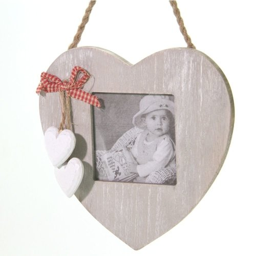 Hanging Photo Frame with Hearts
