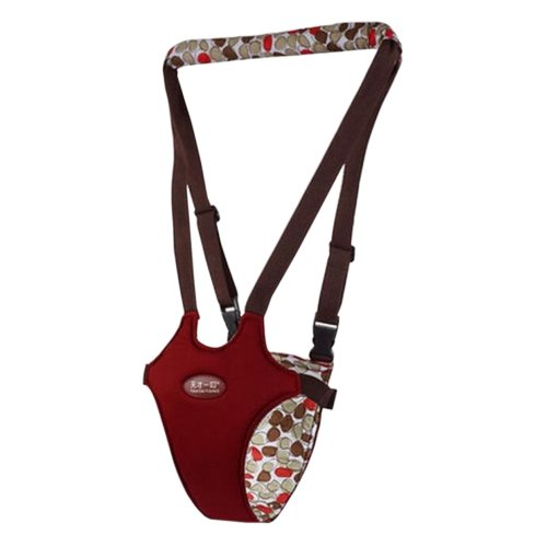 Baby Walk Assistant, Learning Assistant, Belt Carry Walk Helper, Red