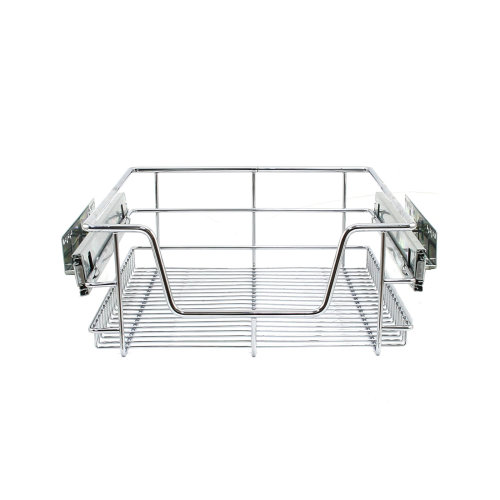 KuKoo Kitchen Pull Out Storage Baskets - 400mm