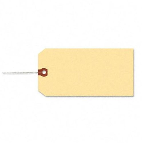 Shipping Tag with Reinforced Eyelet  Paper/Double Wire  6-1/4 x 3-1/8  MLA  1000/Pk