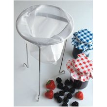 Jam Straining Set For Removing Pips & Seeds - Tala Jelly Kit Strainer Stand -  jam tala straining jelly kit strainer stand set making bag