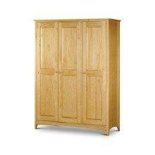 Morento Pine 3 Door Wardrobe