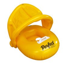 Official 'Perfect Pools' Child Seat with Hood | Toddler Rubber Ring