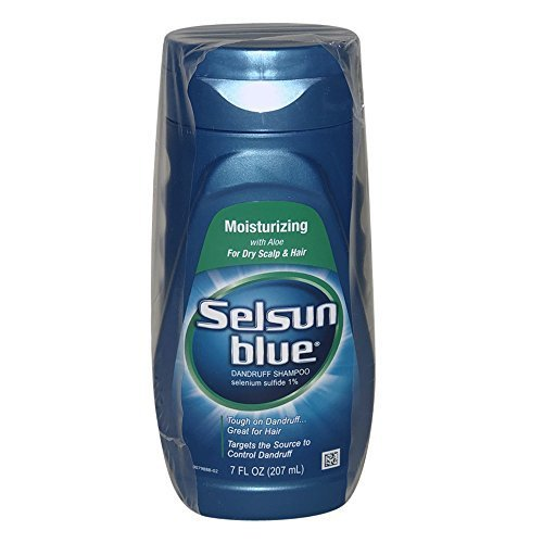 Selsun Blue Moist Shmp 7z Size 7z Selsun Blue Moisturizing Dandruff Shampoo