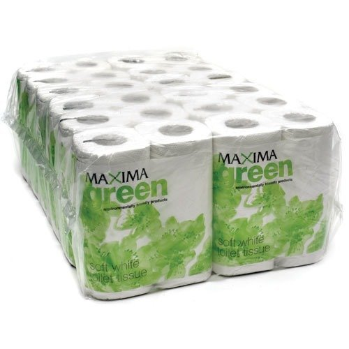 Maxima Green Toilet Rolls White 320 Sheet X 36's