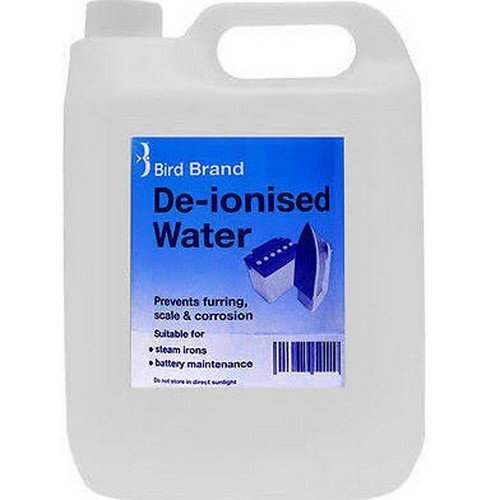 Bird Brand 0625 De-Ionised Water 5 Litre