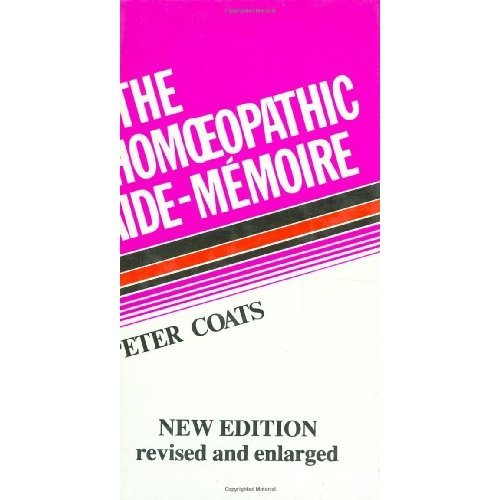 The Homoeopathic Aide-Memoire