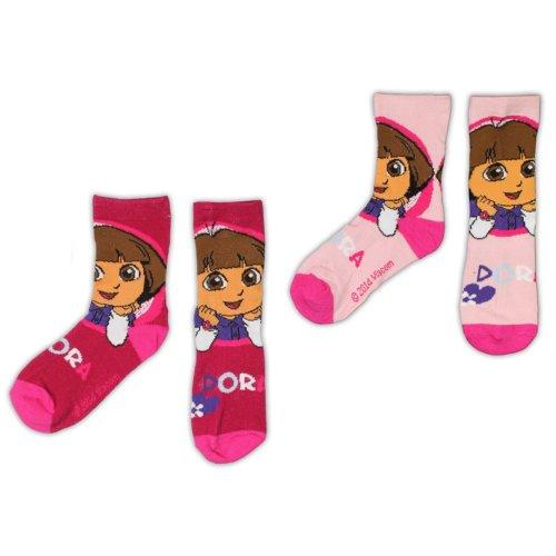 Dora Socks - Pack of 2