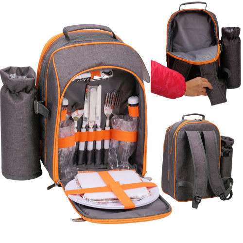 2 Person Picnic Cooler Bag with Accessories