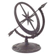 Cast Iron Decorative Sundial Armillary Garden Ornament