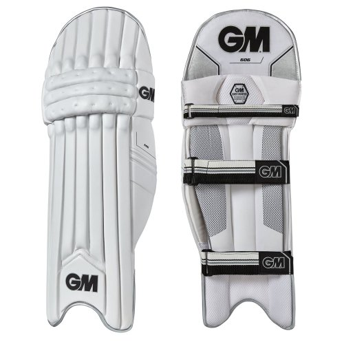 Gunn & Moore 2018 606 Cricket Batting Pads Leg Guards White/Black