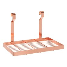 Sorello Hanging Storage Rack, Iron, Rose Glod