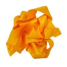 Gym Dance Ribbon Rhythmic Art Gymnastic Streamer Twirling Rod Stick Orange