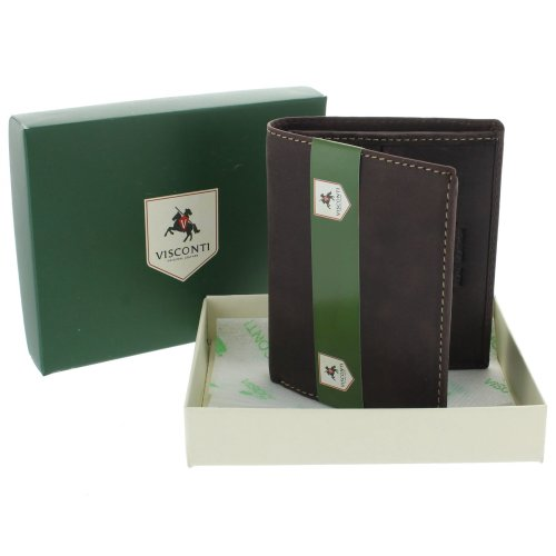 Visconti Hunter Compact Oiled Leather ARROW Wallet 705