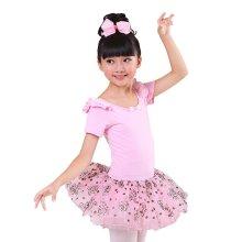 Comfortable Gymnastic Leotard Dress Ballet Tutu Skirt Ballerina Dance Costumes, A