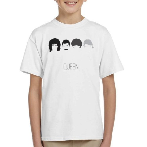 Queen Icon Silhouettes Kid's T-Shirt