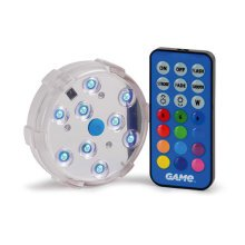 GAME Multicoloured Pool Wall Light | Colour Changing LED Pool Light